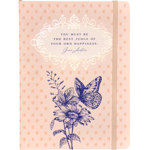Jane Austen 'Best Judge of Your Own Happiness' Notebook