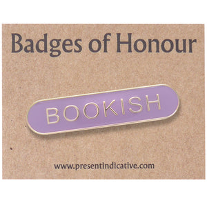 Bookish Enamel Pin
