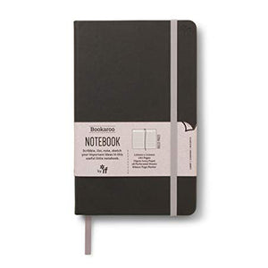Bookaroo A5 Notebook Black