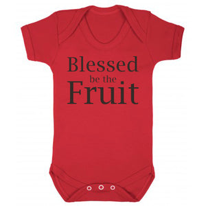 Blessed be the Fruit Babygro