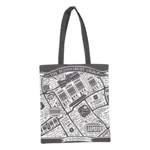 Literary London Tote Bag
