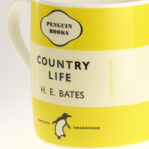 H.E. Bates - Country Life Penguin Mug