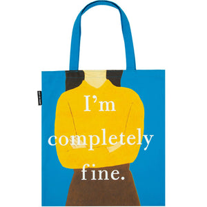 Eleanor Oliphant: I'm Completely Fine Tote Bag