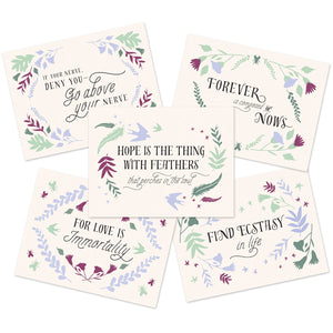 Emily Dickinson Stationery Set
