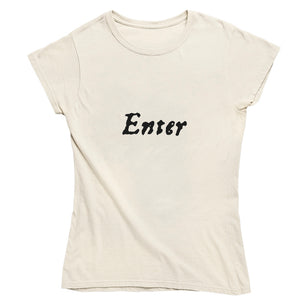 Enter ... Exeunt First Folio T-shirt - Choice of Shapes/Styles