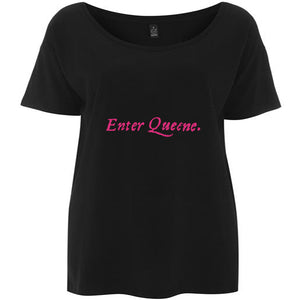 Enter Queene First Folio T-shirt - Choice of Shapes/Styles
