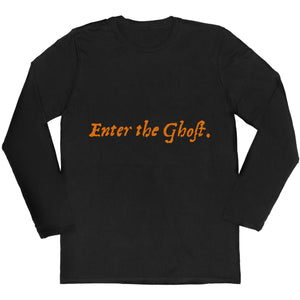 Hamlet 'Enter Ghost' Long-sleeved Unisex T-shirt