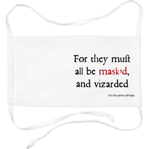 Merry Wives of Windsor Face Mask