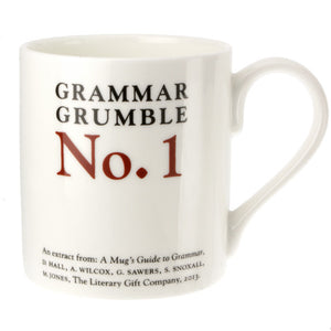 Less or Fewer - Grammar Grumble Mug No.1