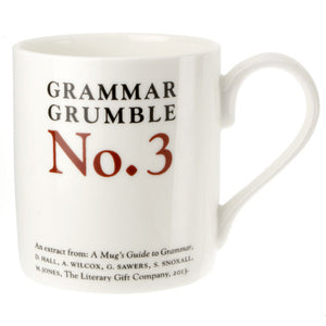 They're, There, Their - Grammar Grumble Mug No. 3