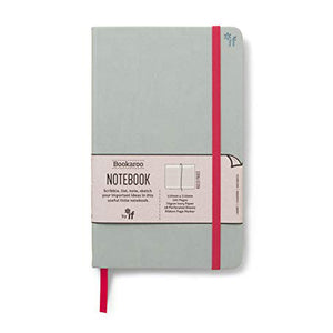 Bookaroo A5 Notebook Grey