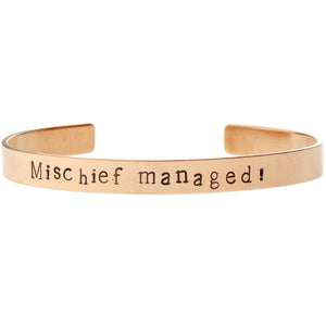 Mischief Managed Bangle