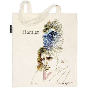 Shakespeare Tote Bag - The Tempest and Hamlet