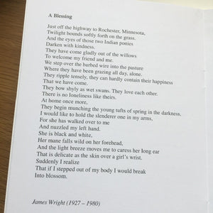 Poetry Instead of a Card - Ten Poems About Happiness