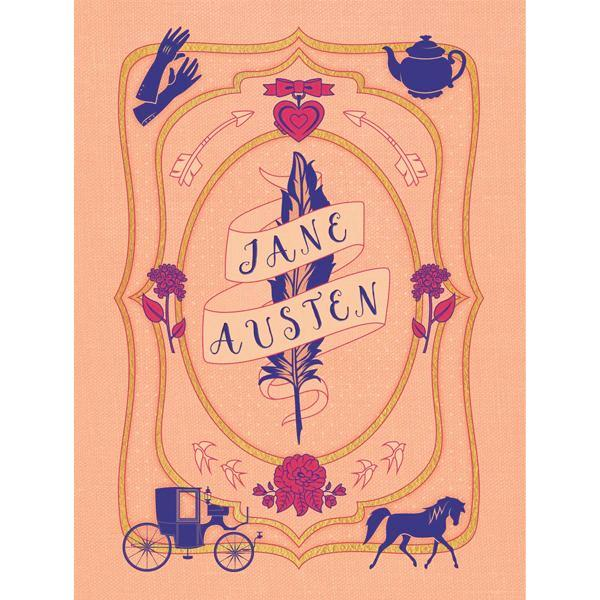 Jane Austen Stationery Set