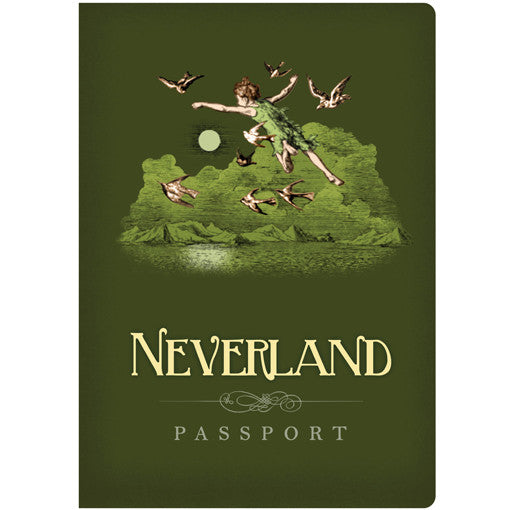 Neverland Passport Pocket Notebook