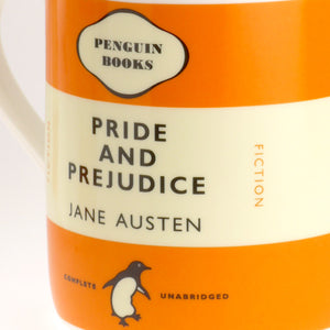 Jane Austen - Pride and Prejudice Penguin Mug