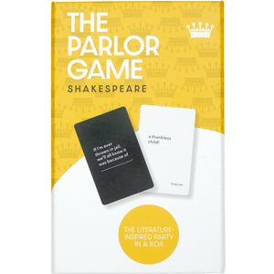William Shakespeare Parlour Game