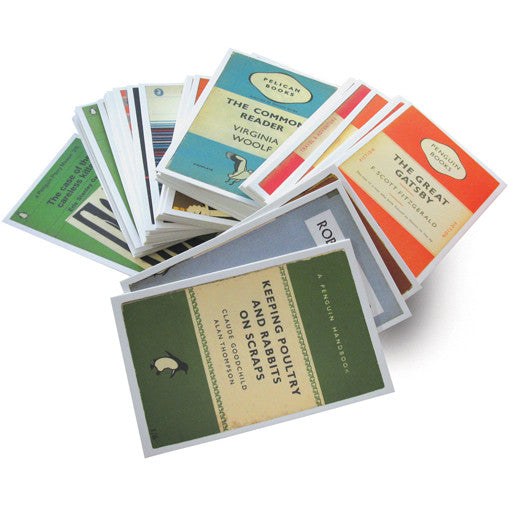 Penguin Book Cover Gifts : Postcards from penguin the literary gift company