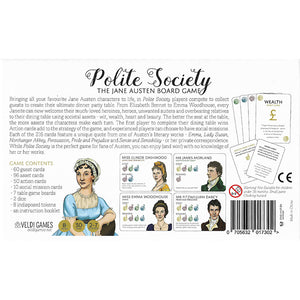 Polite Society: The Jane Austen Board Game