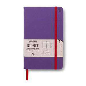 Bookaroo A5 Notebook Purple