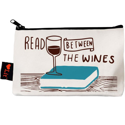 Read Between the Wines Pencil Pouch