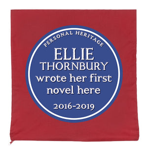 Personalised Heritage Cushion