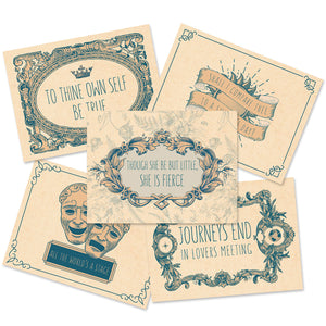 William Shakespeare Stationery Set