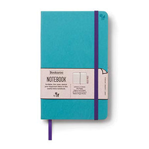 Bookaroo A5 Notebook Turquoise