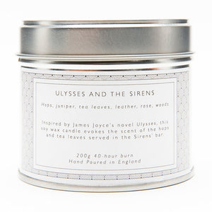 Ulysses and the Sirens Candle