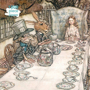 Arthur Rackham: Alice in Wonderland Tea Party 1000 Piece Jigsaw Puzzle