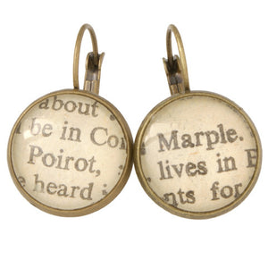 Agatha Christie Earrings