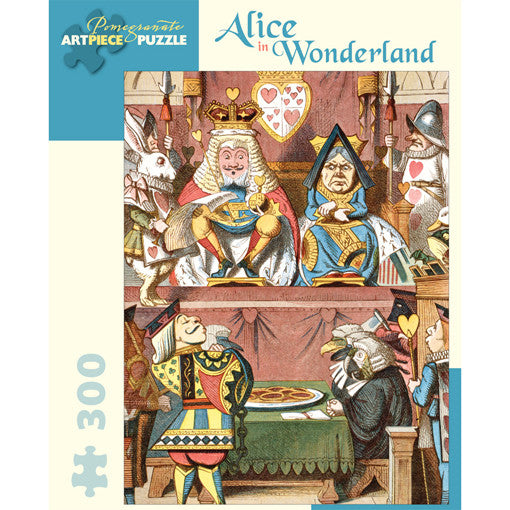 Alice In Wonderland Jigsaw Puzzle