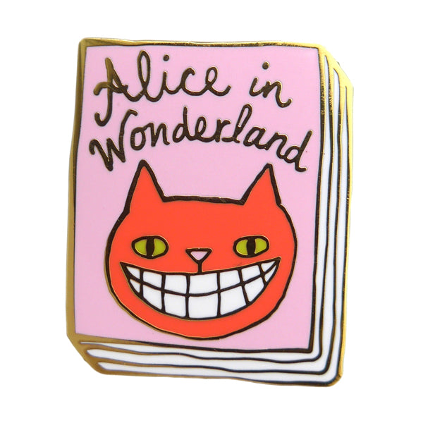 Alice In Wonderland Enamel Pin