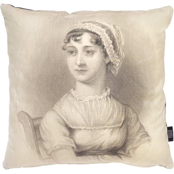 Jane Austen Cushion