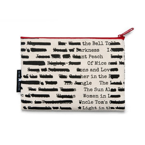 Zipped Pouch - Banned Books