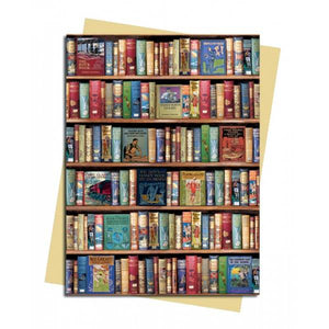 Hobbies and Pastimes Bookshelves Greeting Card