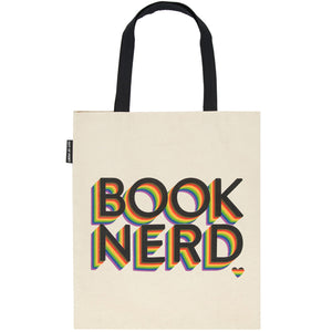 Book Nerd Tote Bag