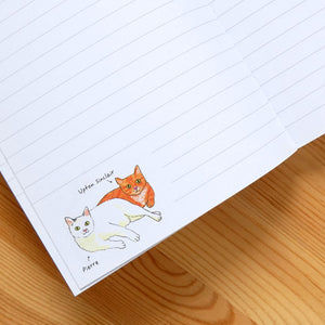 Bookstore Cats Notebook
