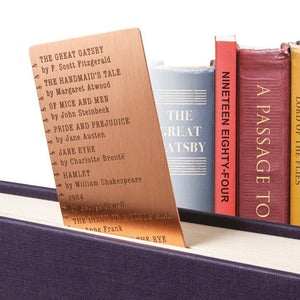Bucket List Bookmark