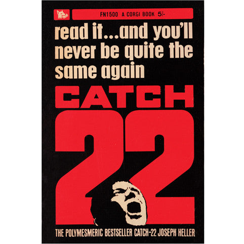 Catch 22 Poster The Literary Gift Company