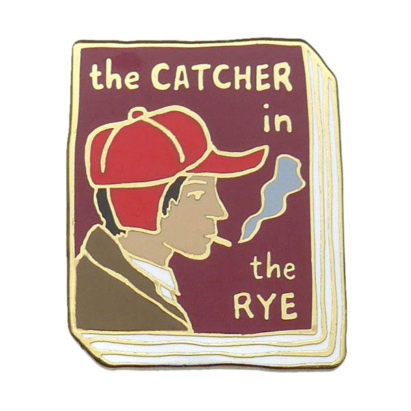 The Catcher In The Rye Enamel Pin