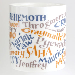 Cats in Literature Mug