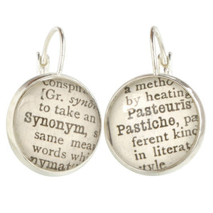 Literary Terms Earrings