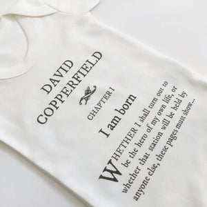 David Copperfield Babygro