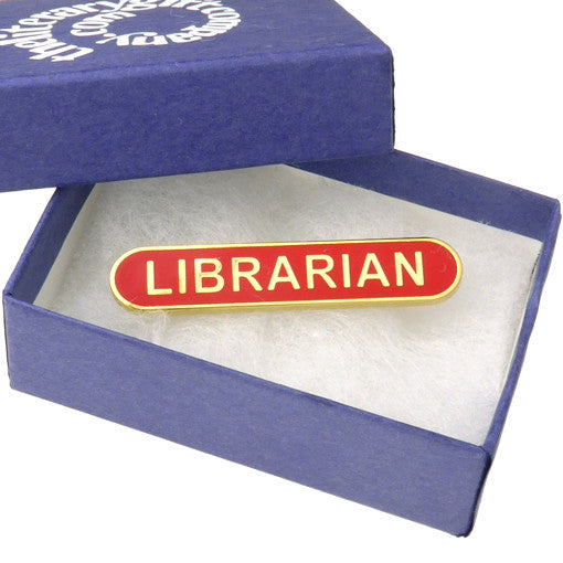 Gift Boxed Librarian Badge
