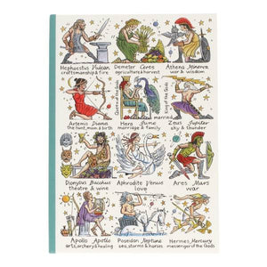 Greek Gods & Goddesses Notebook