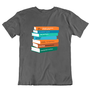 Personalised Bookshelf T-shirt