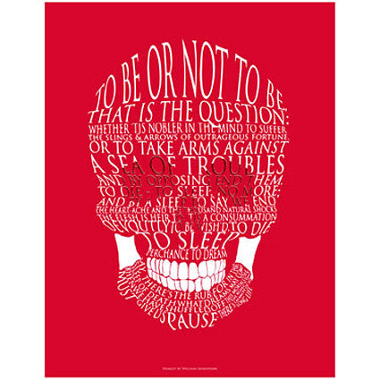 Hamlet Quotes Stunning Hamlet Quote Card The Literary Gift Company
