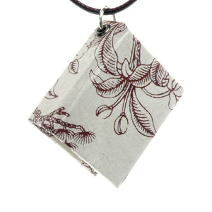 Bookbound Necklace - Silver
